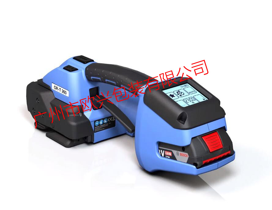OR-T260 蓄电池塑钢带打包机(